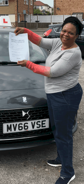 Pass your driving test in Uxbridge
